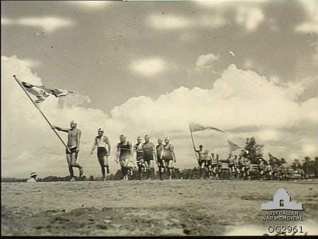 Aitape, New Guinea 1945 Surf Carnival