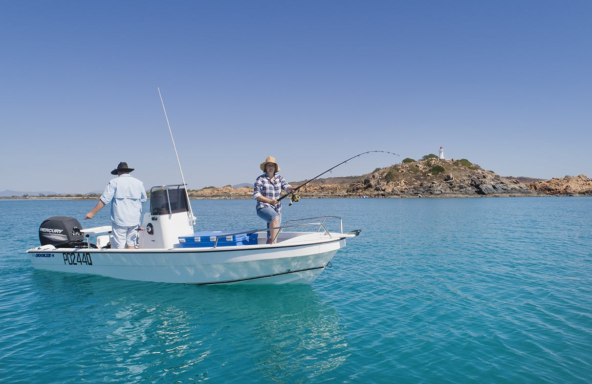 Fishing in Bowen