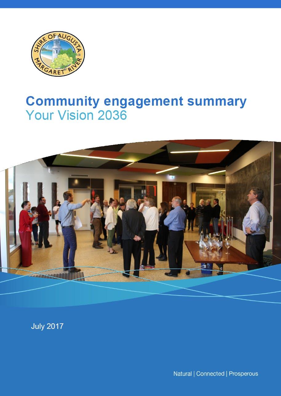 Community engagement summary report