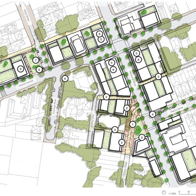 Indicative East Chatswood Master Plan