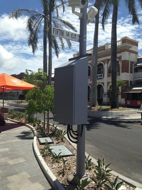 CCTV Camera in Mackay City Centre