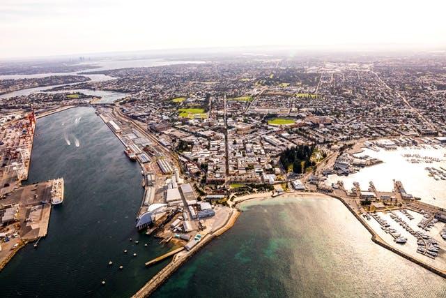Aerial Fremantle
