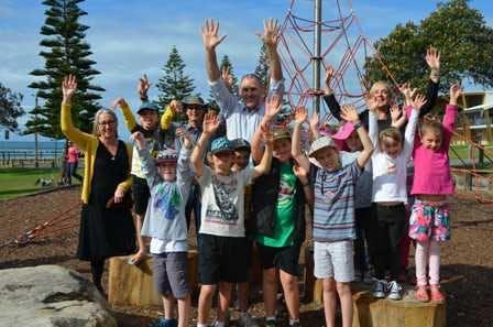 Rainbow Beach Playground Opening