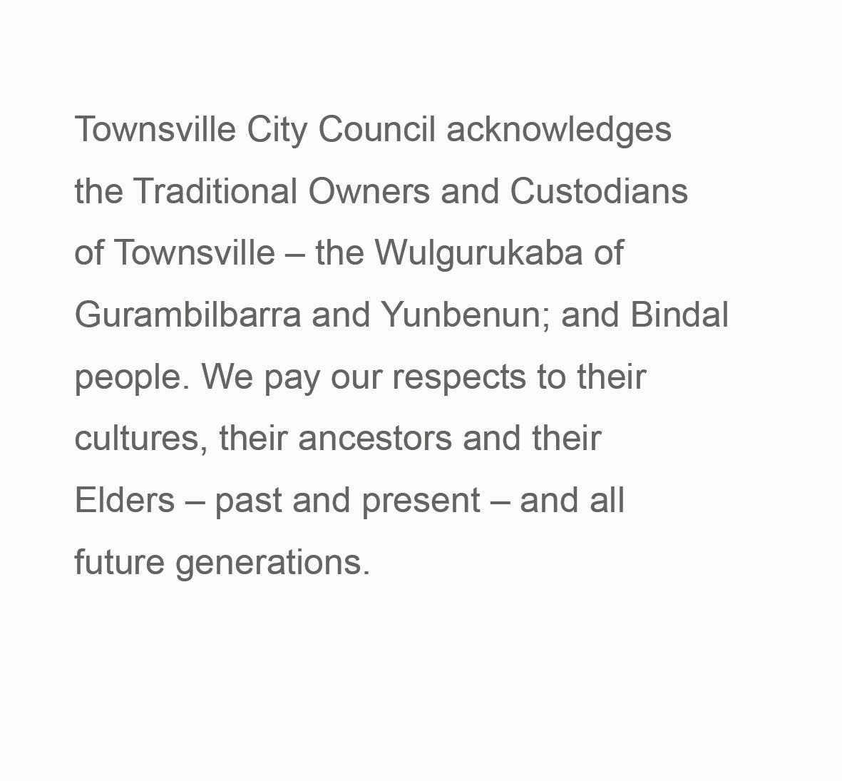 Traditional Owner Acknowledgement