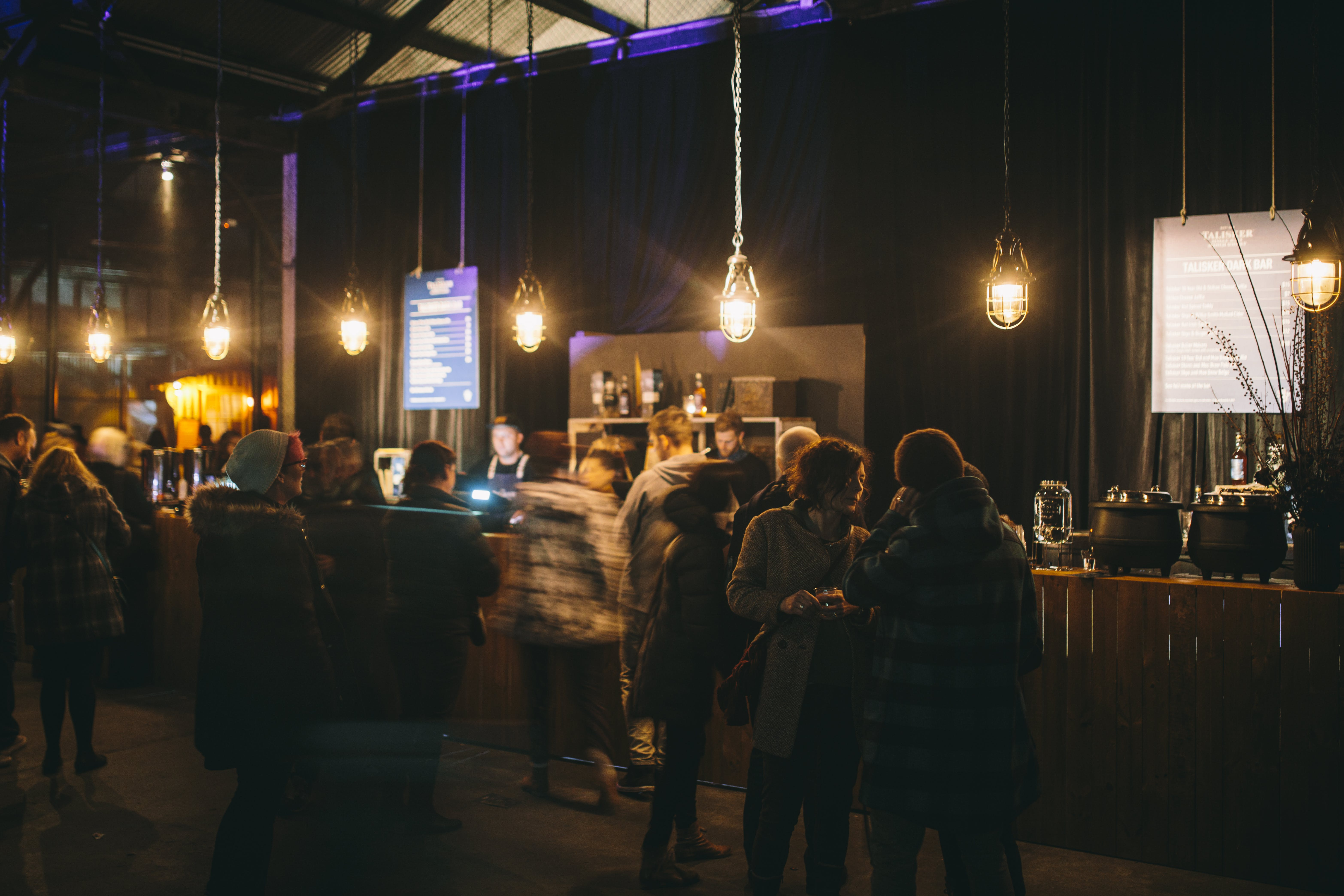 Goods Shed during Dark Mofo 2017