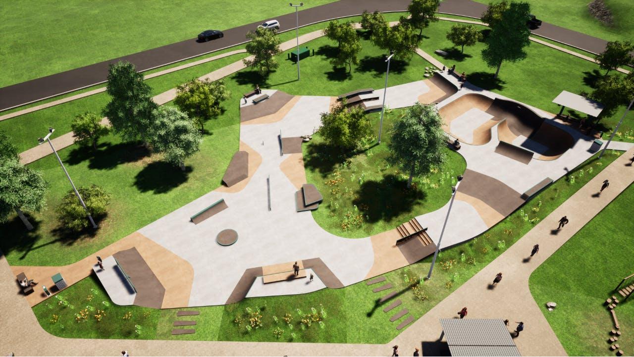 Morton Road Skate Park