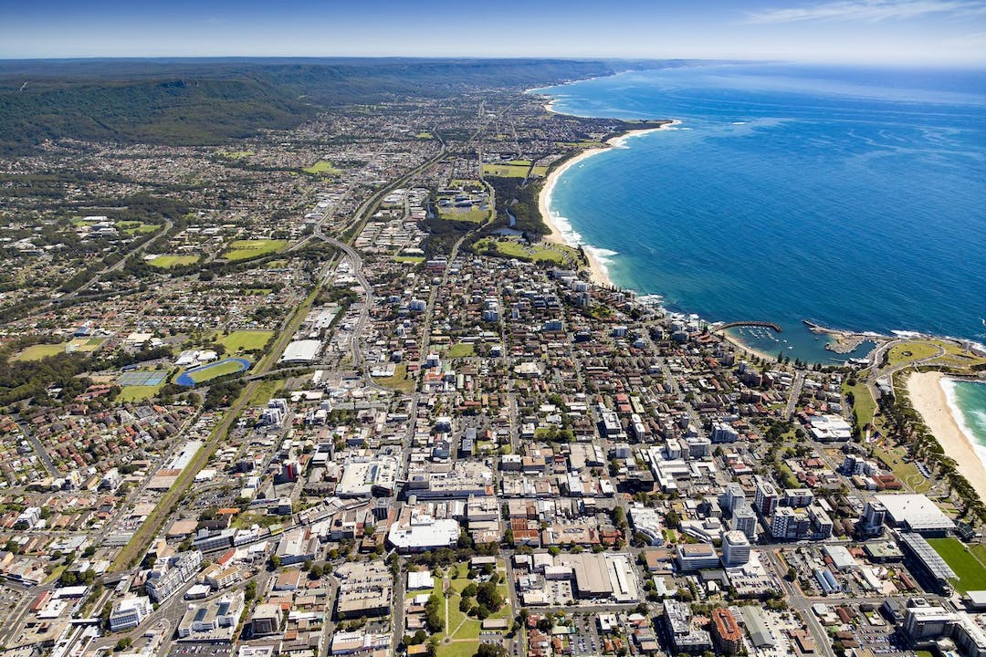 Wollongongcentral aerials ed strategy