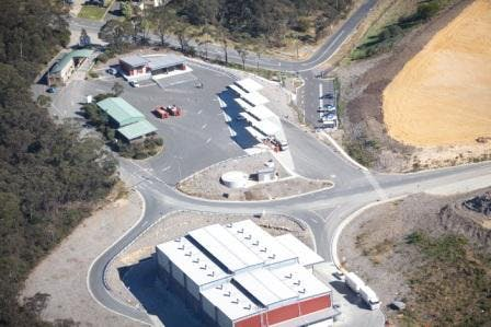 Aerial View of the Katoomba Transfer Station 2