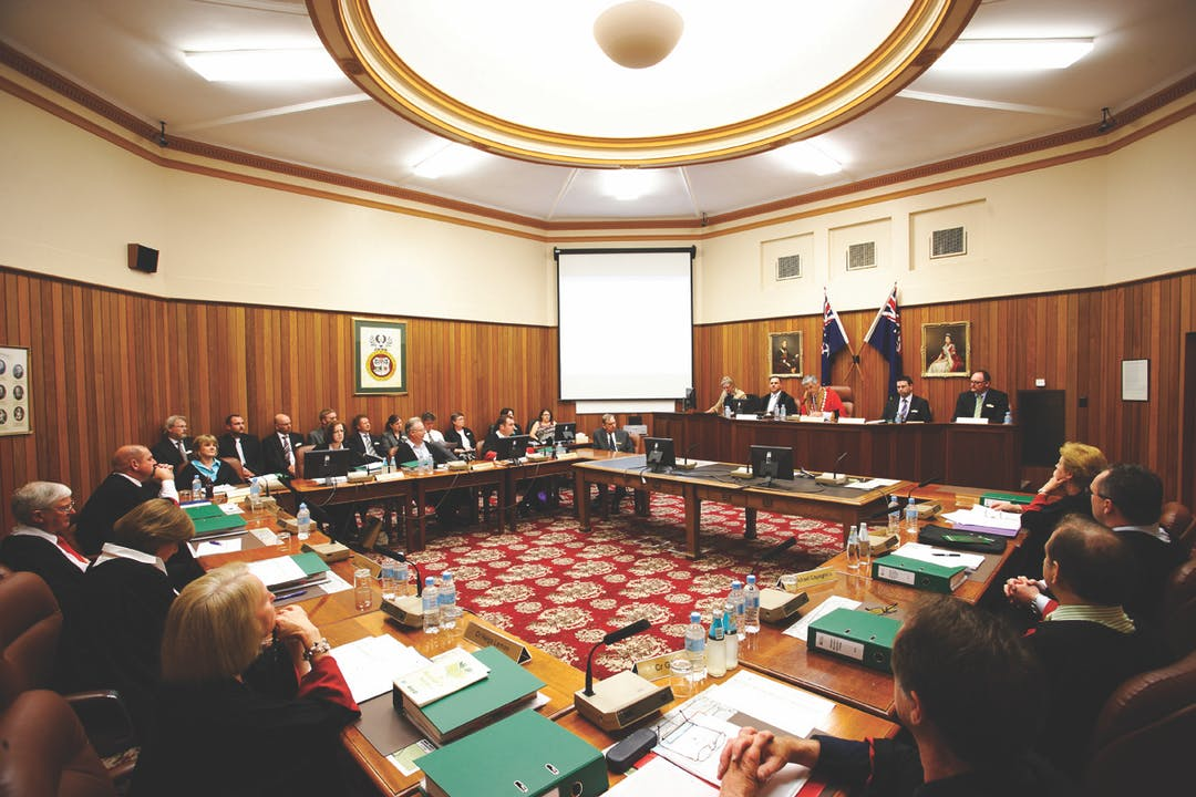 Council meetings image