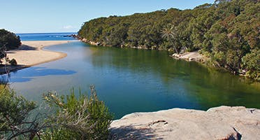Wattamolla lagoon. Photo: R Newton, OEH