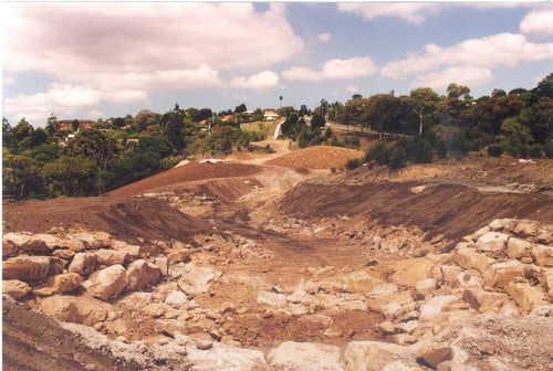 Flatrock Gully Naremburn March 1998 - BEFORE