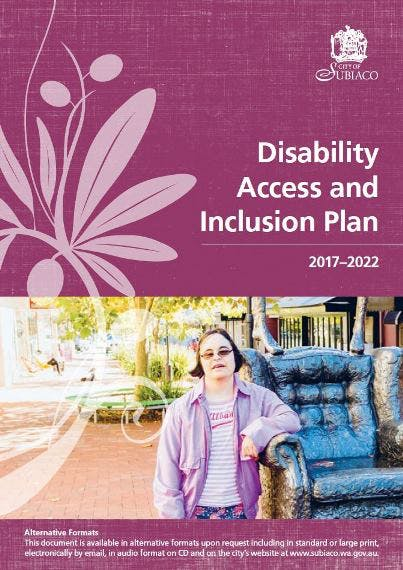 Disability Access and Inclusion Plan - final
