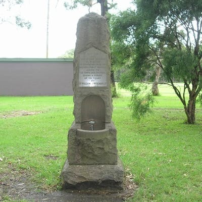 William Wiseman Memorial in its current location