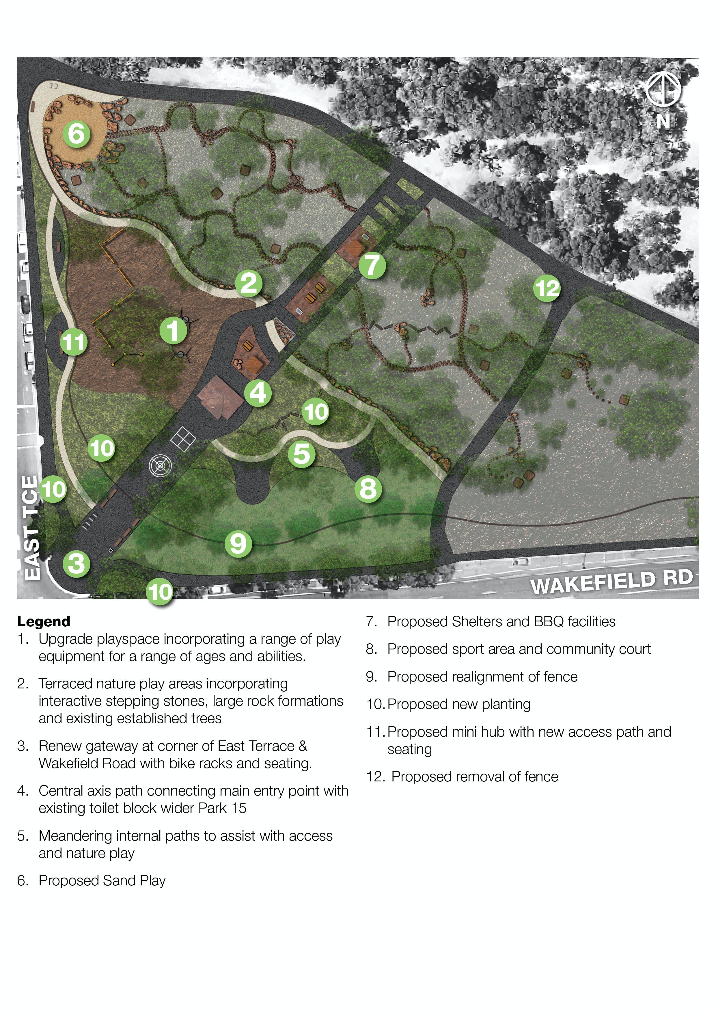 Ityamai Itpina Park 15 Concept Plan