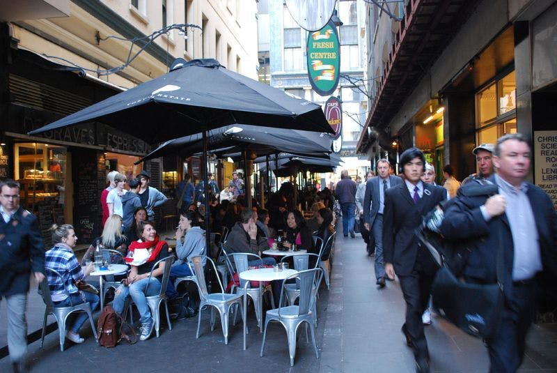 Draft Concept Image Only - Laneway Restaurants