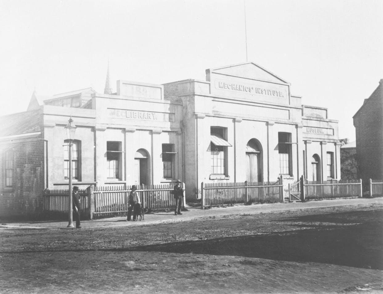 Hay Street - Swan River Mechanics Institute - 1880's