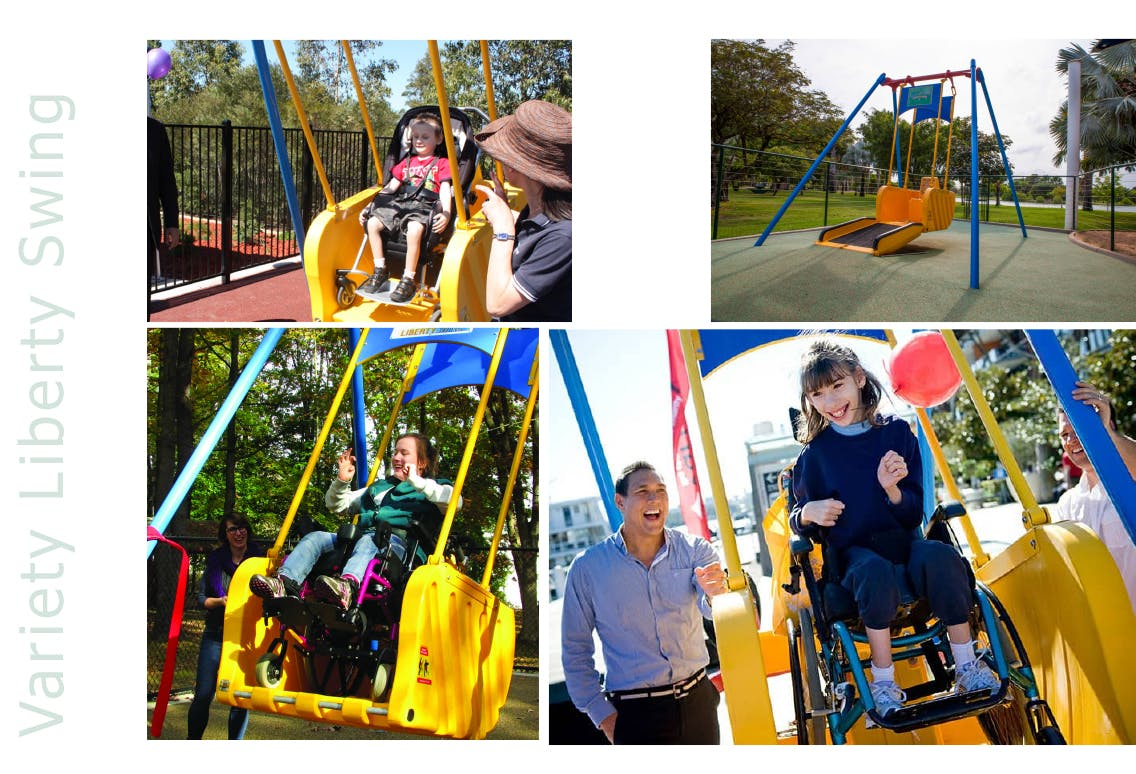 Liberty Swing Equipment With Wheelchair Access