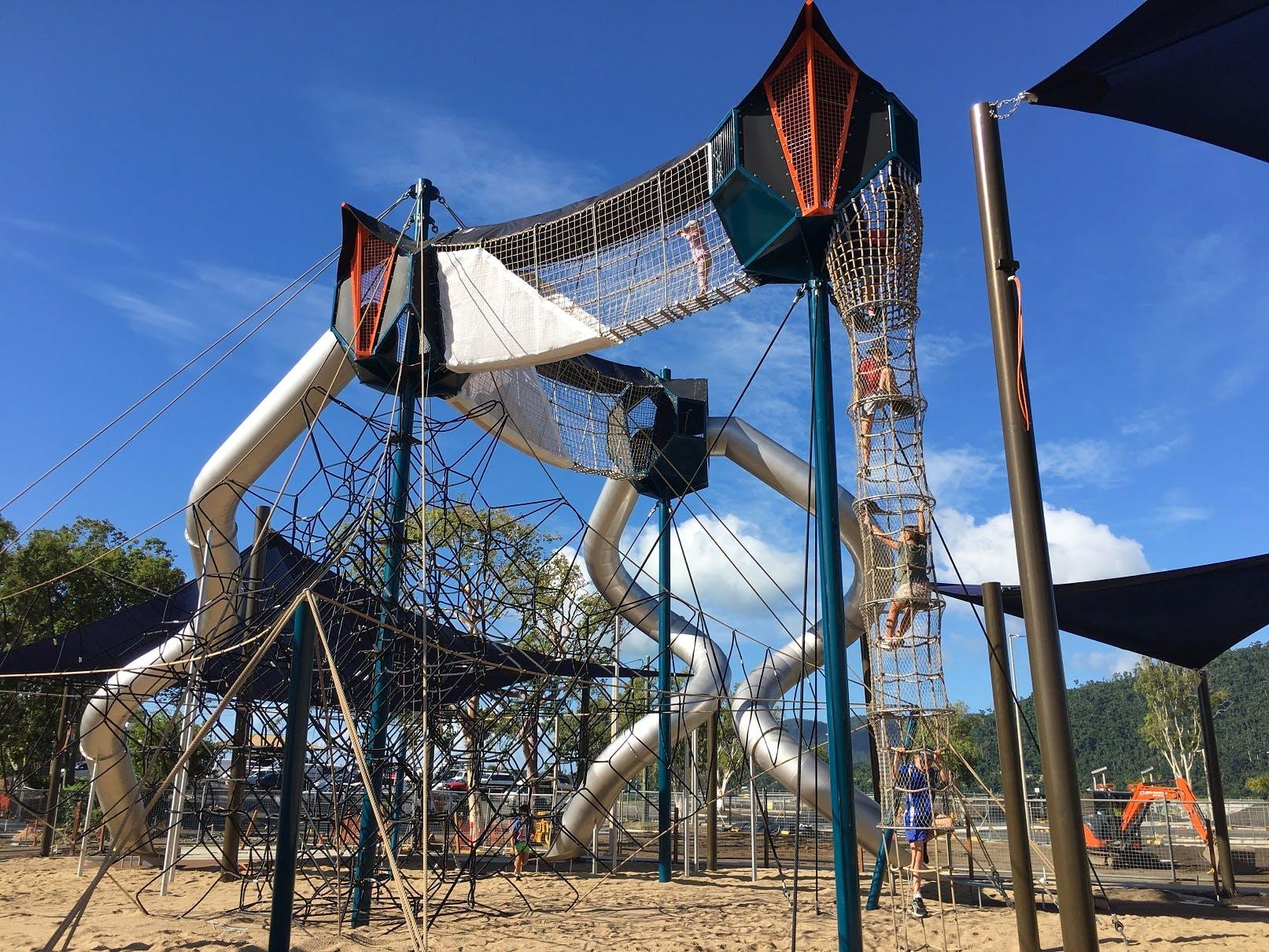New Playground - opened 19 April