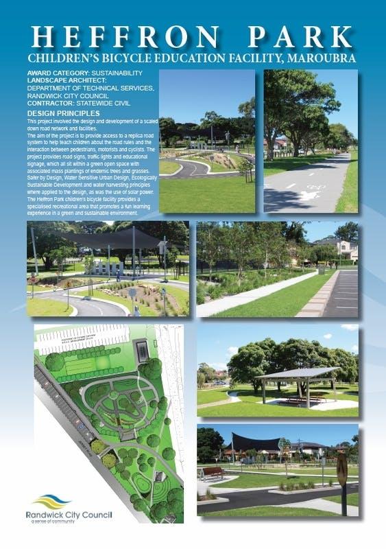 Heffron Park Children's Bicycle Education Facility