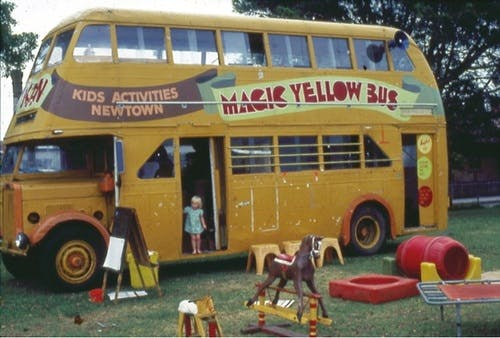 The Seventies Magic Yellow Bus