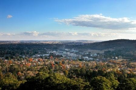 Bowral From The Gib