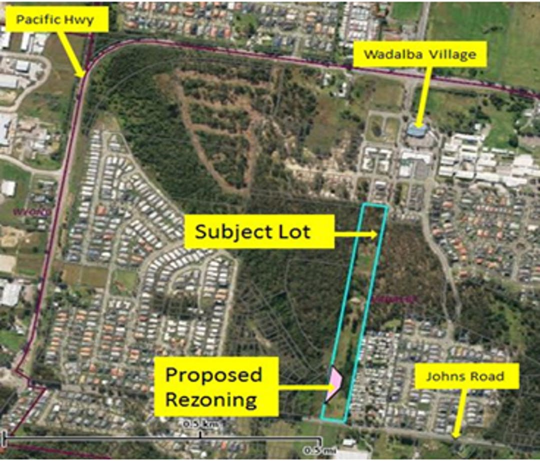 Planning Proposal in respect of land at 205 Johns Road