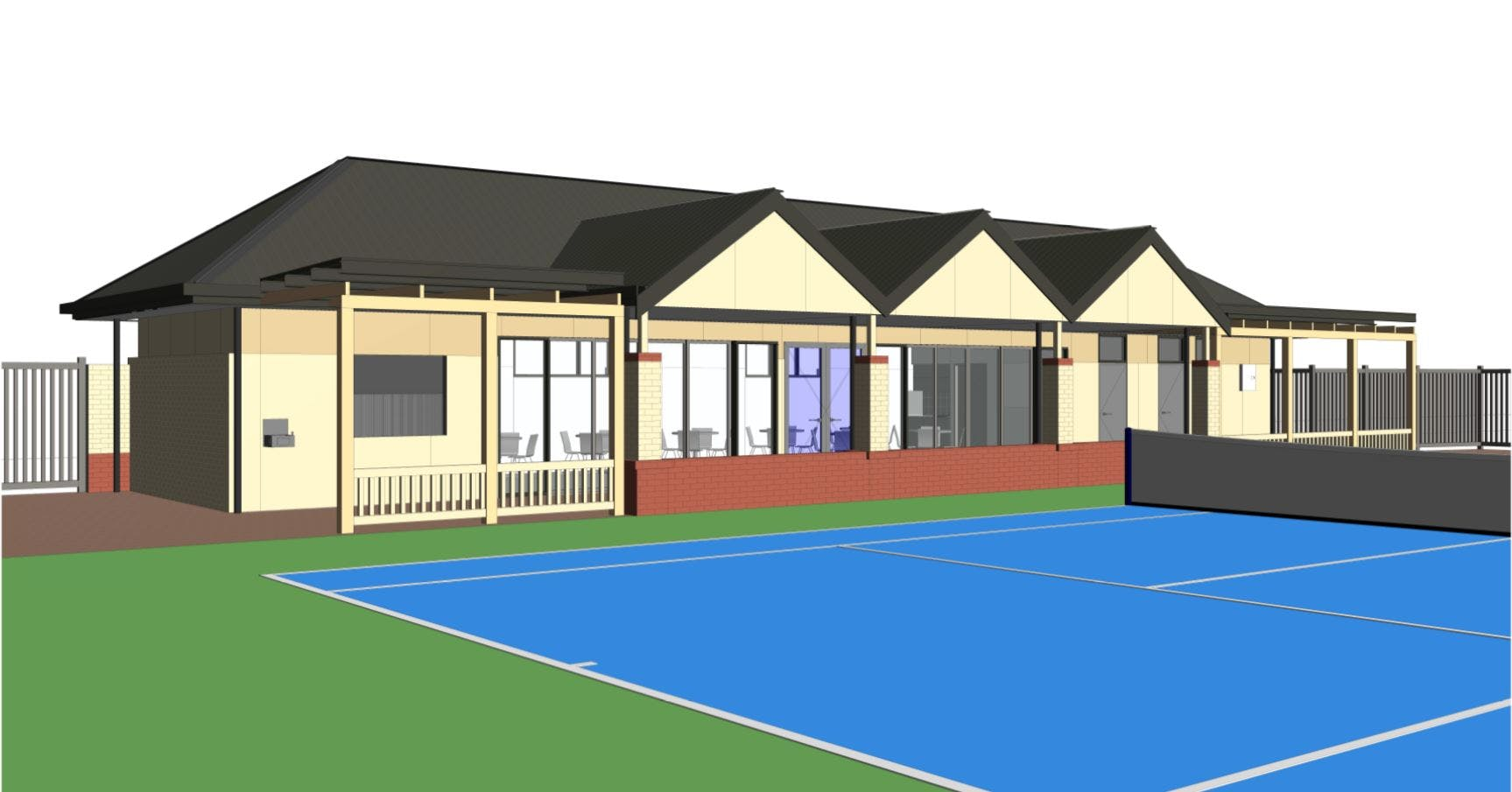 Tennis Club redevelopment image