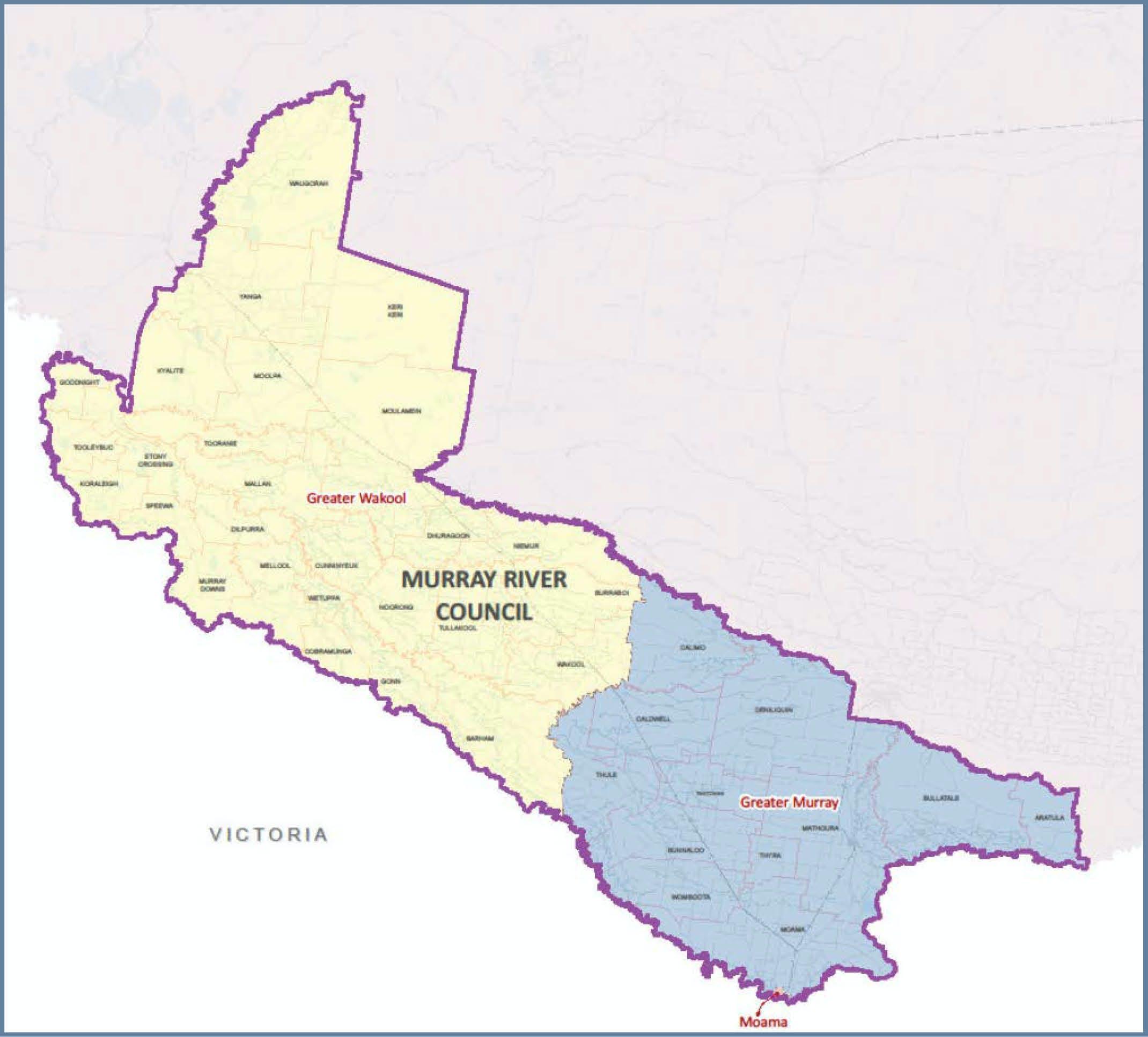 Map of Electoral Wards