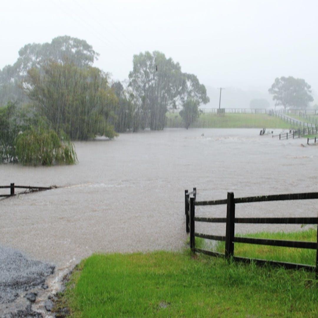 Duck creek flood