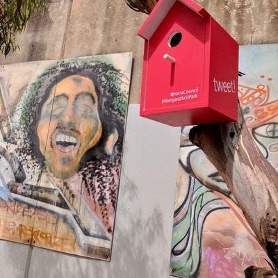 Wangaratta Street Park birdhouses