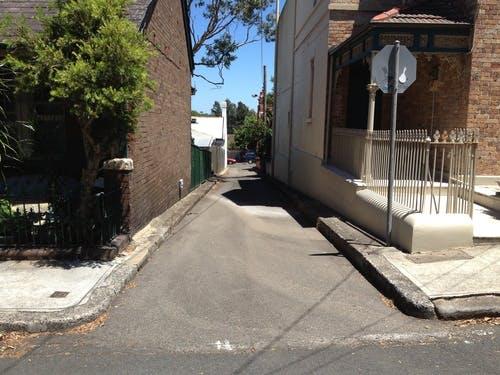 Narrow Laneway