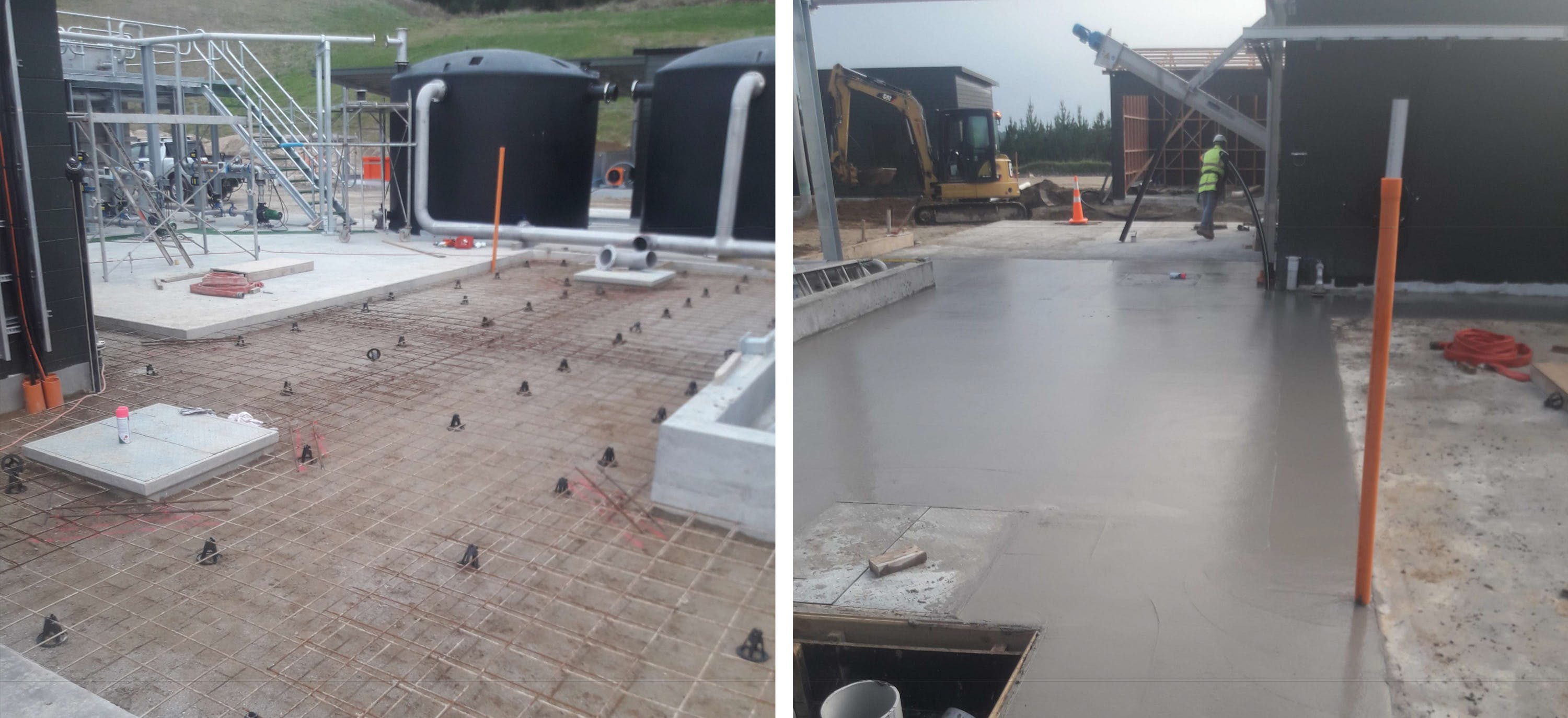 Captured: 11 June 2019 - WAS Membrane Area Concrete Slab