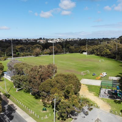 Aerial view of Mt Claremont Oval