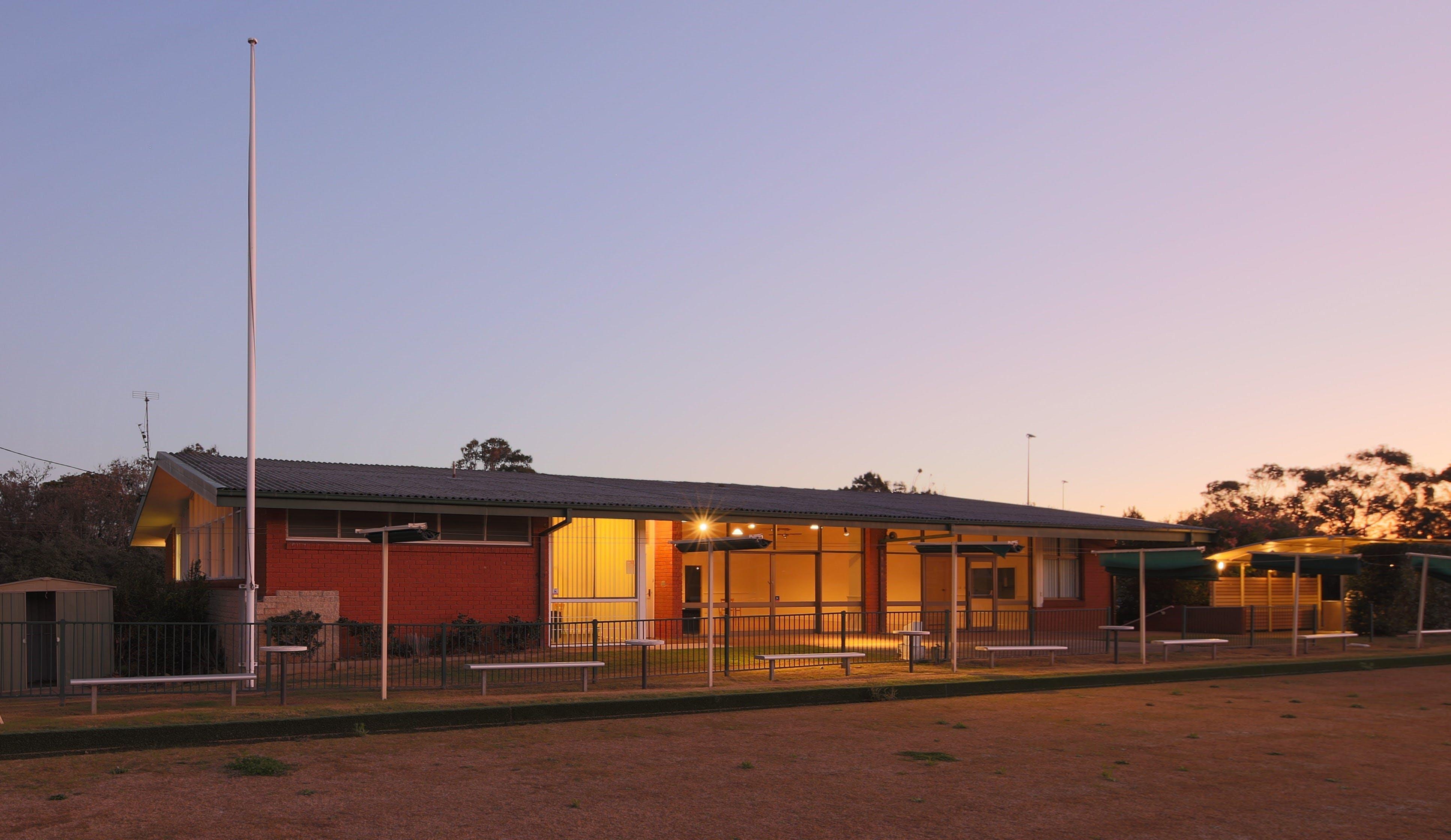 Entrance twilight cropped