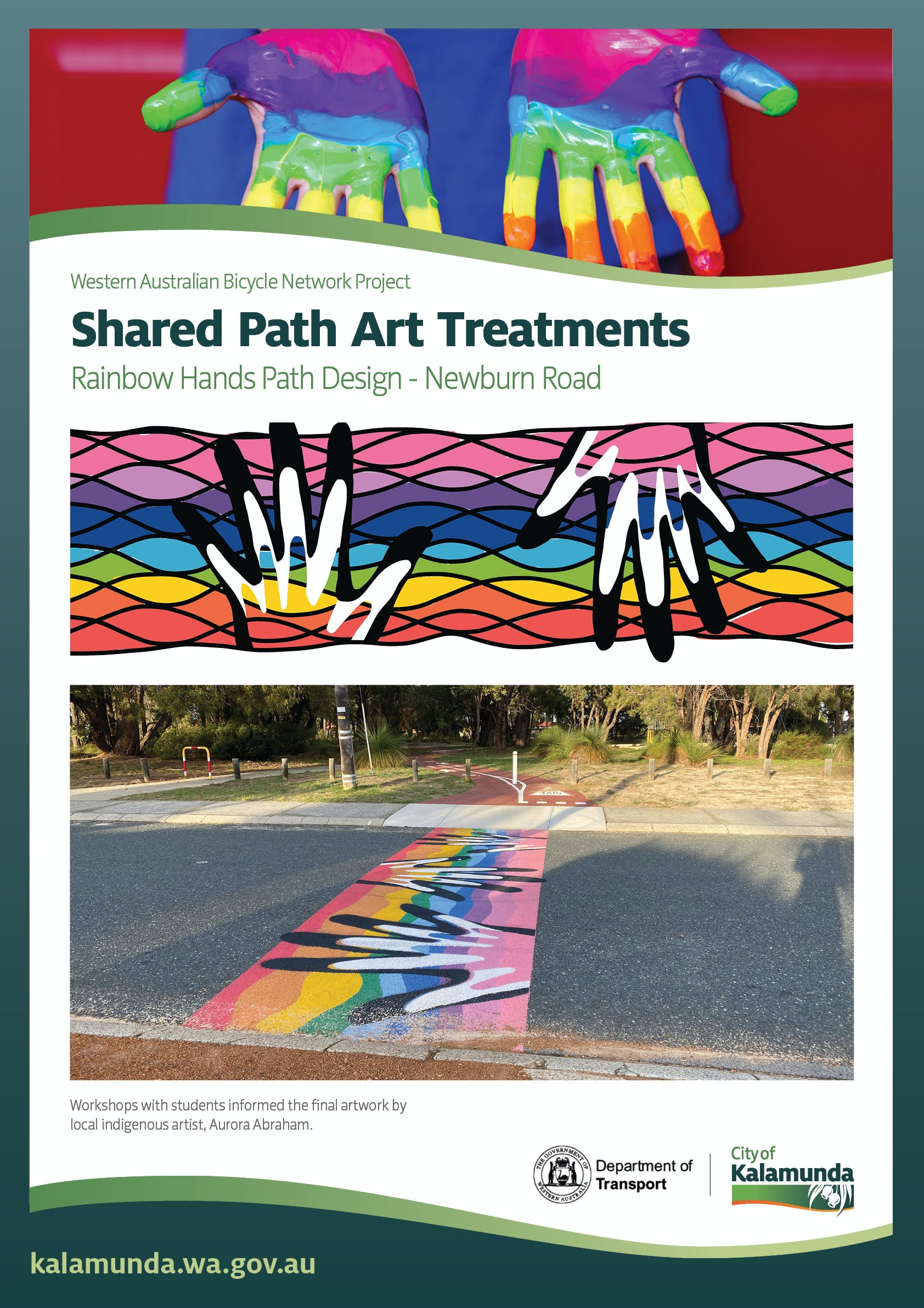 Rainbow hands path design - Newburn Road.jpg