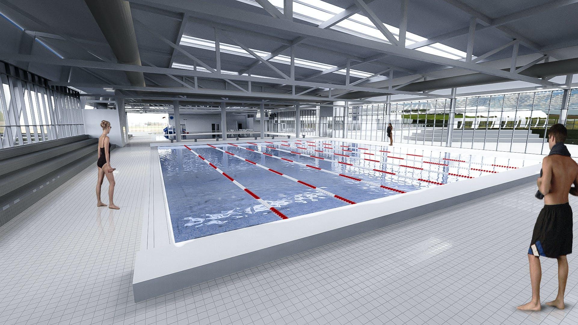 Charlestown 25m indoor pool