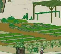 Community garden banner