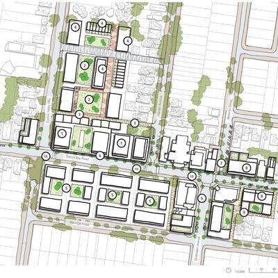 Indicative Northbridge Master Plan