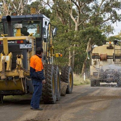 Rural Roadside Grading