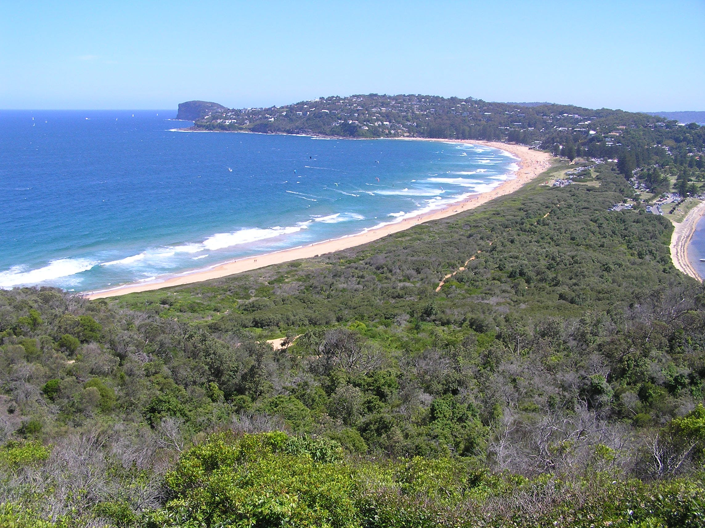 From Barrenjoey Looking South