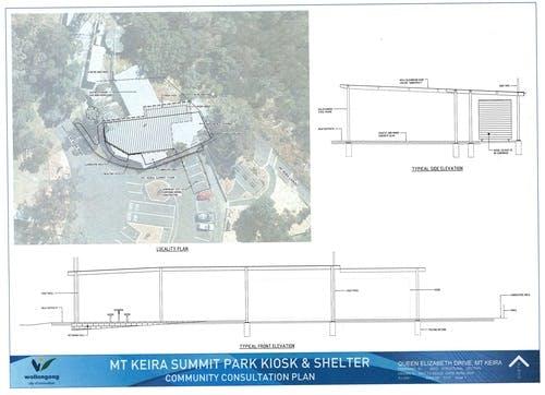 Kiosk And Shelter Plan
