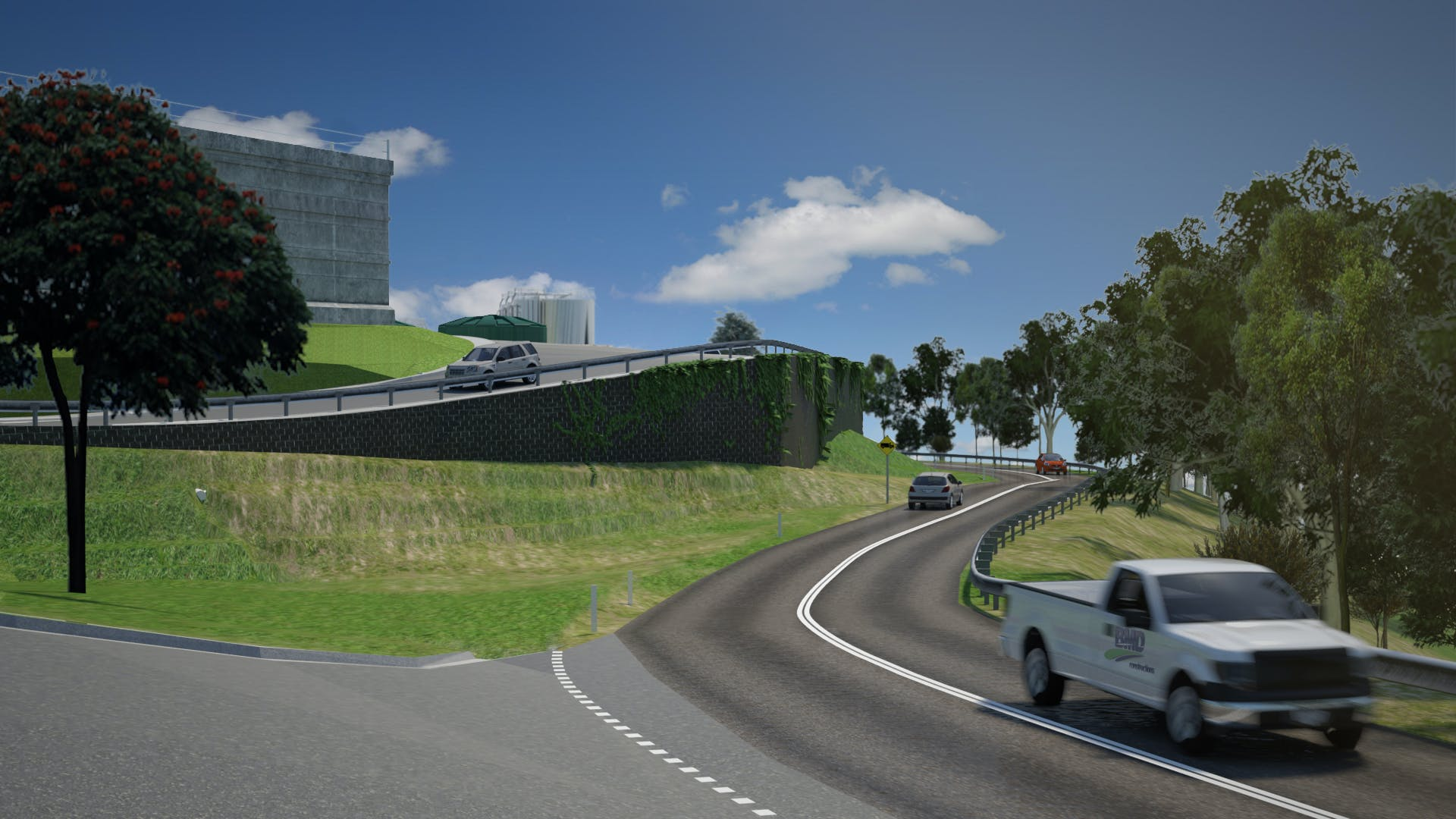 Mt Crosby upgrade 3D image