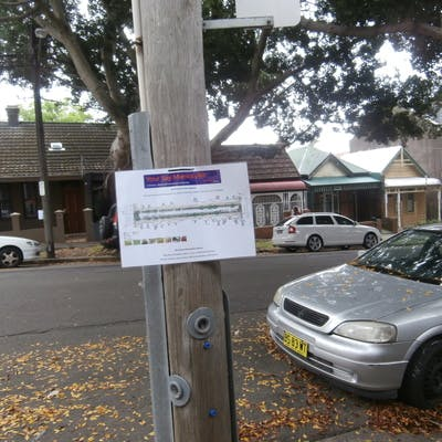 Information about streetscape upgrade on Northwood Street
