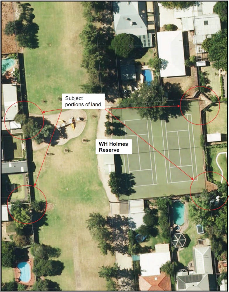 WH Holmes Reserve