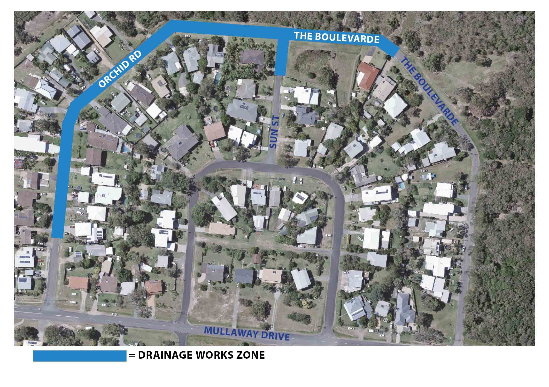 Mullaway drainage works