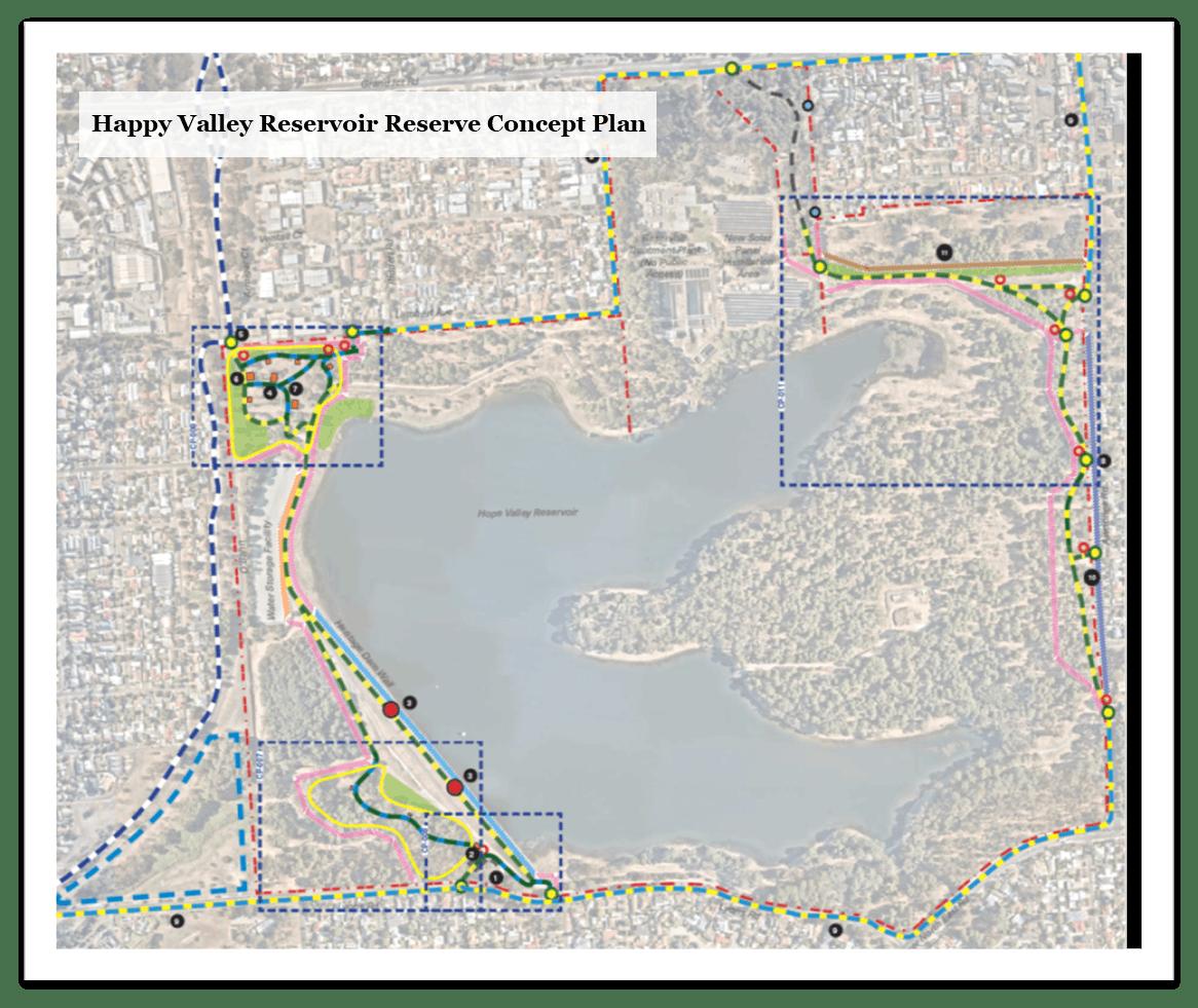 Happy Valley Reservoir Reserve Concept Plan