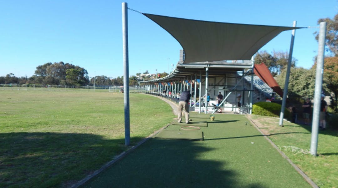 Riverside driving range