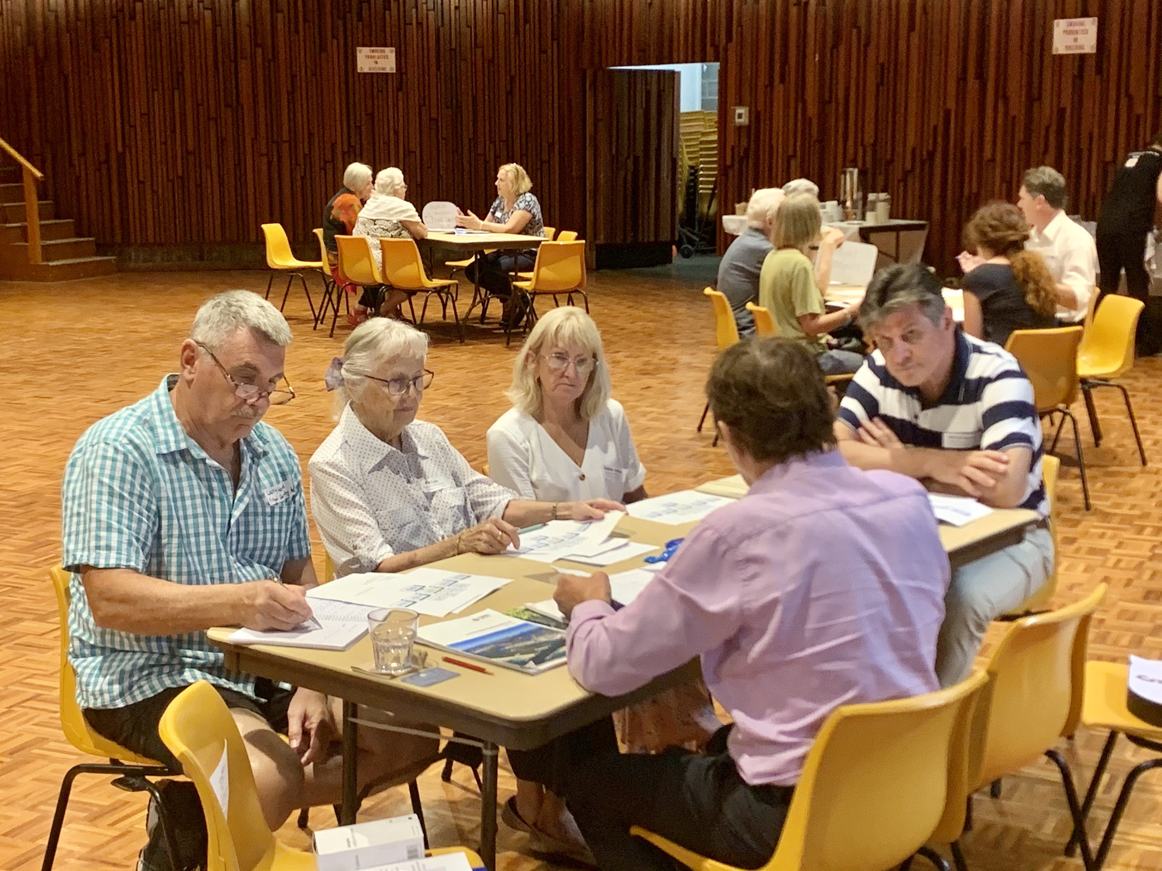 Stakeholder Forum Table Discussions