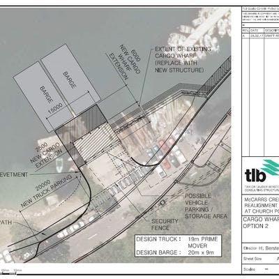Cargo Wharf Arragement Option 2 Feb2017