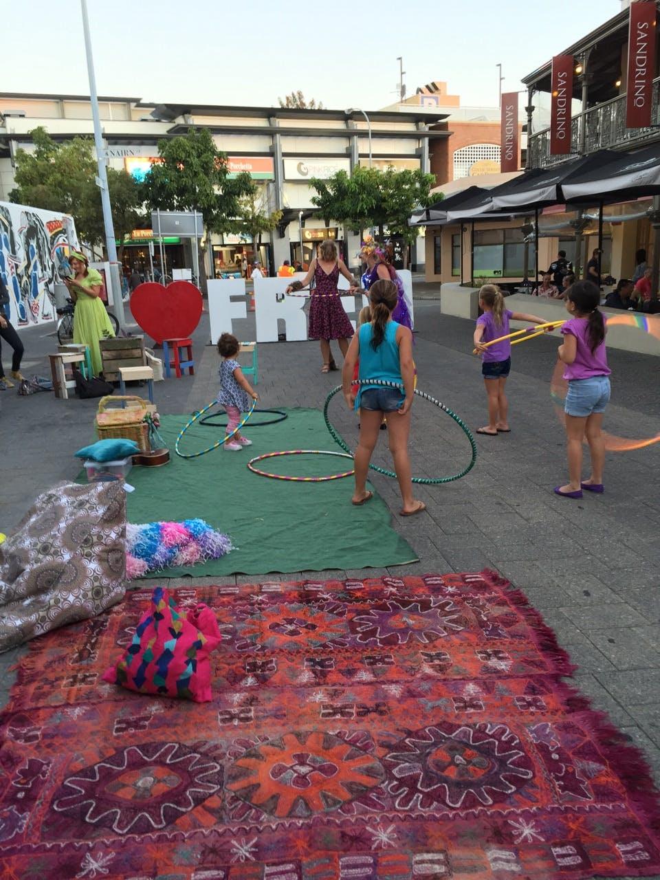 Market Street Piazza daytime 7